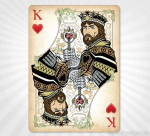 Alice King of Hearts