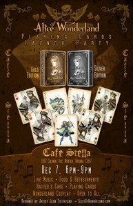 Alice Launch Party Flyer