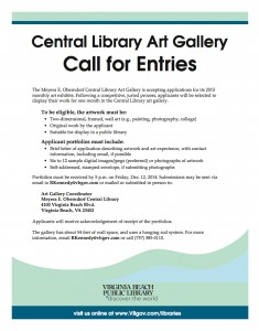 Central Library Call for Artists
