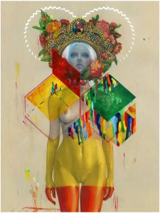 Hi-Fructose Erik-Jones-Dipped-Queen-urban-art